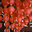 Red lanterns — Foto Stock