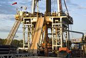 Plate-forme pétrolière — Photo
