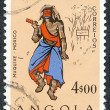 Angolan postage stamp — Stock Photo
