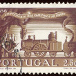 Portuguese postage stamp — Stock Photo #1850682