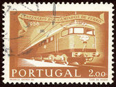 Portuguese postage stamp — Photo