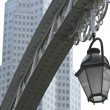 Street light in Singapore - Stock Photo