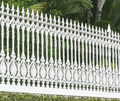 Picket fence — Photo