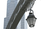 Street light in Singapore — Stock Photo