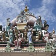 Sri Mariamman Hindu temple — Stock Photo