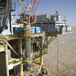 Stock Photo: Offshore oil production installation