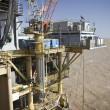 Offshore oil production installation — Stock Photo #2430012