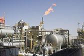 Installation de production de pétrole en mer — Photo