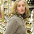 Stock Photo: Supermarket shopper