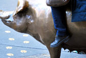 Golden Pig — Stock Photo