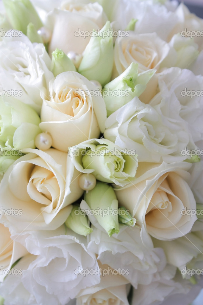 Wedding bouquet's background — Stock Photo #1341815