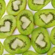 Stock Photo: Kiwi heart