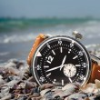 Water resistant watch — Stock Photo