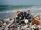 Water resistant watch — Stock fotografie