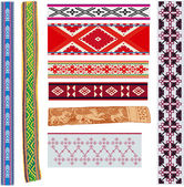Traditional baltic patterns — Stock Vector