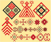 Baltic weaving designs — Stock Vector