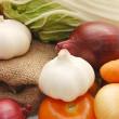 Assortment of fresh vegetables — Stock Photo #1366209