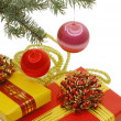 Boxes with gifts — Stock Photo #1366322
