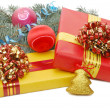 Boxes with gifts — Stock Photo #1366343