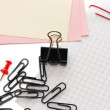 Stock Photo: Various stationery