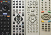 Remote controls for close-up — Stock Photo