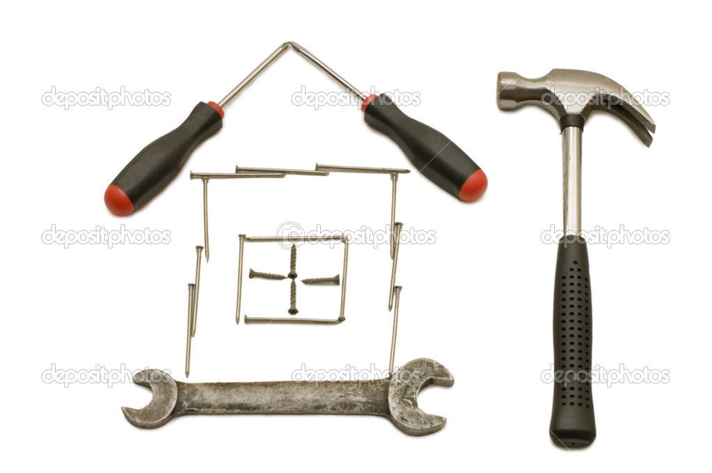 House From Building Tools Stock Photo Voronin 76 2471798