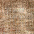 Old linen beige canvas texture — Stock Photo