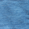 Abstract new denim blue jeans texture — Stok fotoğraf