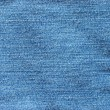 Abstract new denim blue jeans texture — Stockfoto