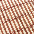 Closeup of bamboo mat background - Stock Photo