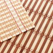 Closeup of bamboo mat background — Stockfoto #2587218