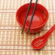Traditional japanese restaurant utensil — Foto de Stock