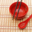 Traditional japanese restaurant utensil — Stock Photo