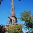 Tour d'Eiffel in the blue sky — Stock Photo