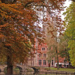 Autumn in Brugge - Stock Photo