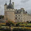 Chateau and Garden Chenonceau — ストック写真