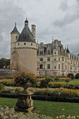 Chateau and Garden Chenonceau — Stock Photo