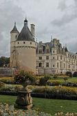 Chenonceau castello e giardino — Foto Stock