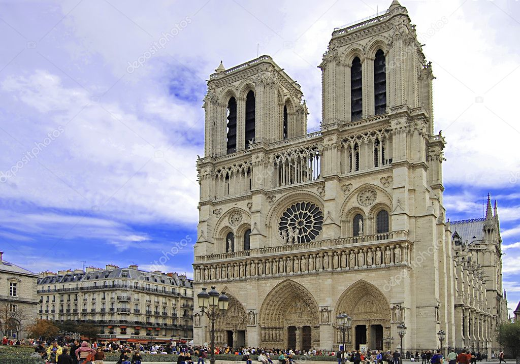 Notre dame de paris — Stock Photo #2598573