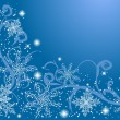 Winter background — Vector de stock #1322590