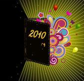 Promising 2010 — Stock Vector