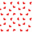 Seamless hearts background - Stockvectorbeeld