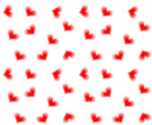 Seamless hearts background — Stockvector