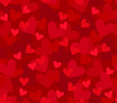 Seamless background with hearts — Vettoriale Stock