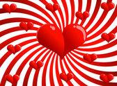バレンタイン カード — ストックベクタ