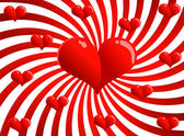 Valentine karty — Wektor stockowy
