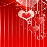fondo romántico — Vector de stock
