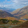 Panorama of a valley in the mountains — Stock Photo