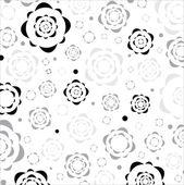 Цветочные графических текстур. — Cтоковый вектор