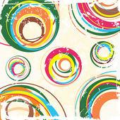 Artistic pattern. Vector. — Stock Vector